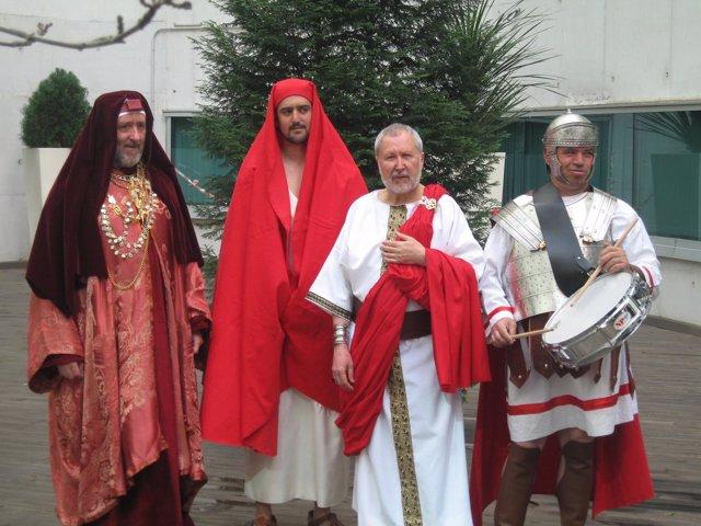 Actores De La Semana Santa Viviente