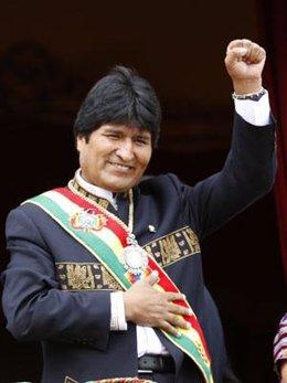 Evo Morales toma posesión del cargo