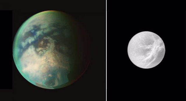 Titán Y Dione