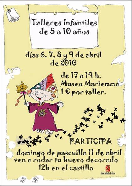 Íscar (Valladolid) programa talleres infantiles desde hoy en el castillo y en el Museo Marienma