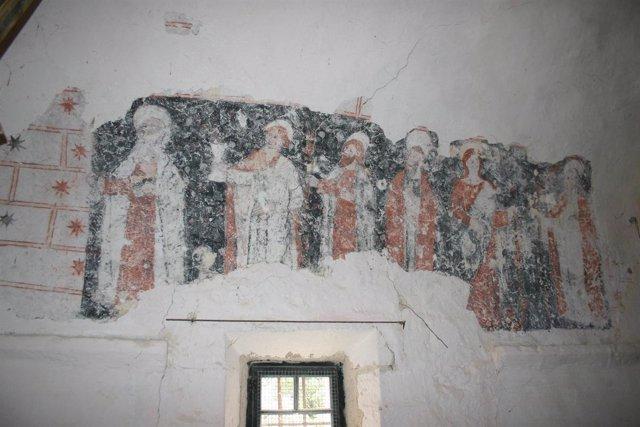 Pintura Del Interior De La Ermita