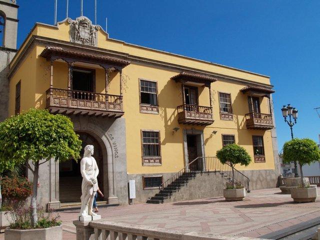 Sede Del Ayuntamiento De Icod De Los Vinos (Tenerife)