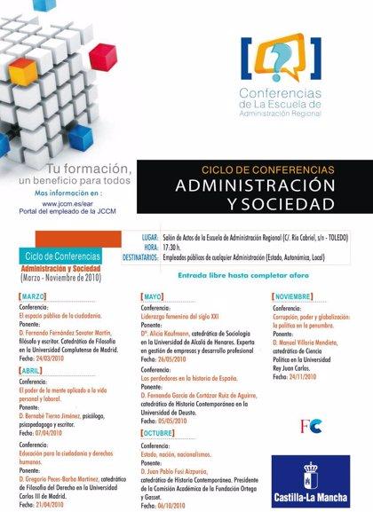 El psicólogo Bernabé Tierno protagonizará mañana una nueva conferencia en la Escuela de Administración Regional