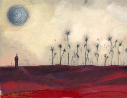 Hoy se inaugura en Soria una exposición de pintura sobre el poemario de Miguel Hernández 'El rayo que no cesa'