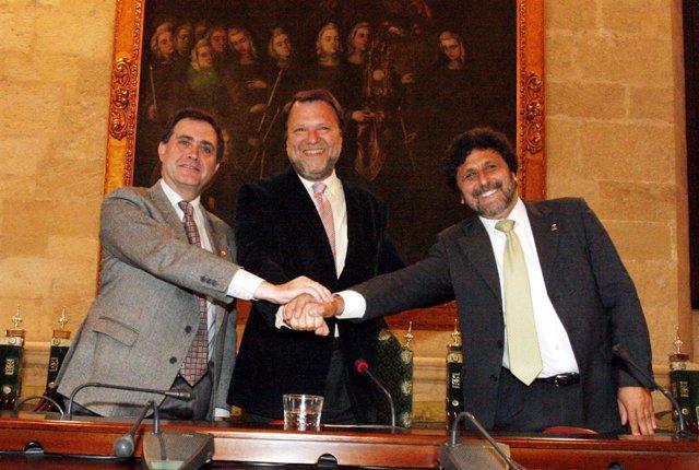 Firma Del Convenio Entre Naturalia XXI, US Y UPO