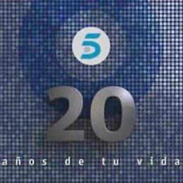 Telecinco, 20º aniversario
