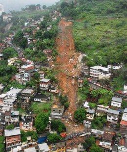 Inundaciones en Río de Janeiro (Brasil)