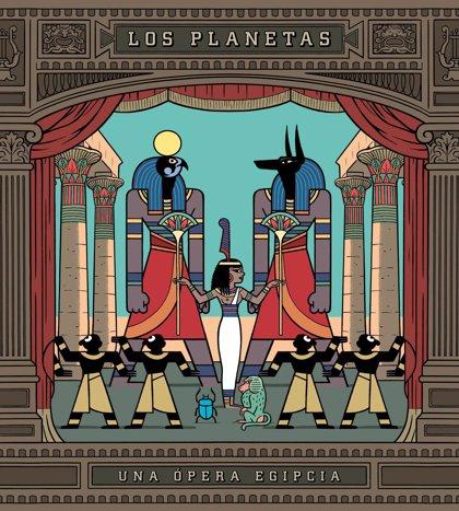 El octavo disco de Los Planetas, 'Una ópera egipcia', sale hoy a la venta