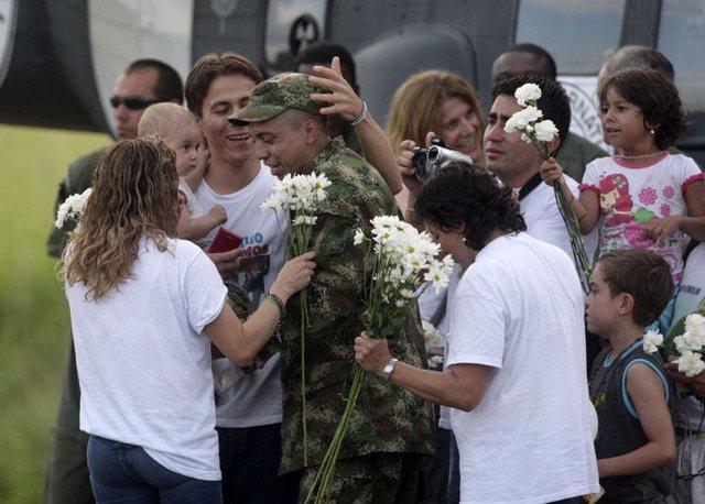 Liberación del cabo Pablo Emilio Moncayo