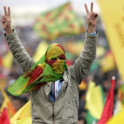 Entierro de más de cien niños kurdos iraquíes