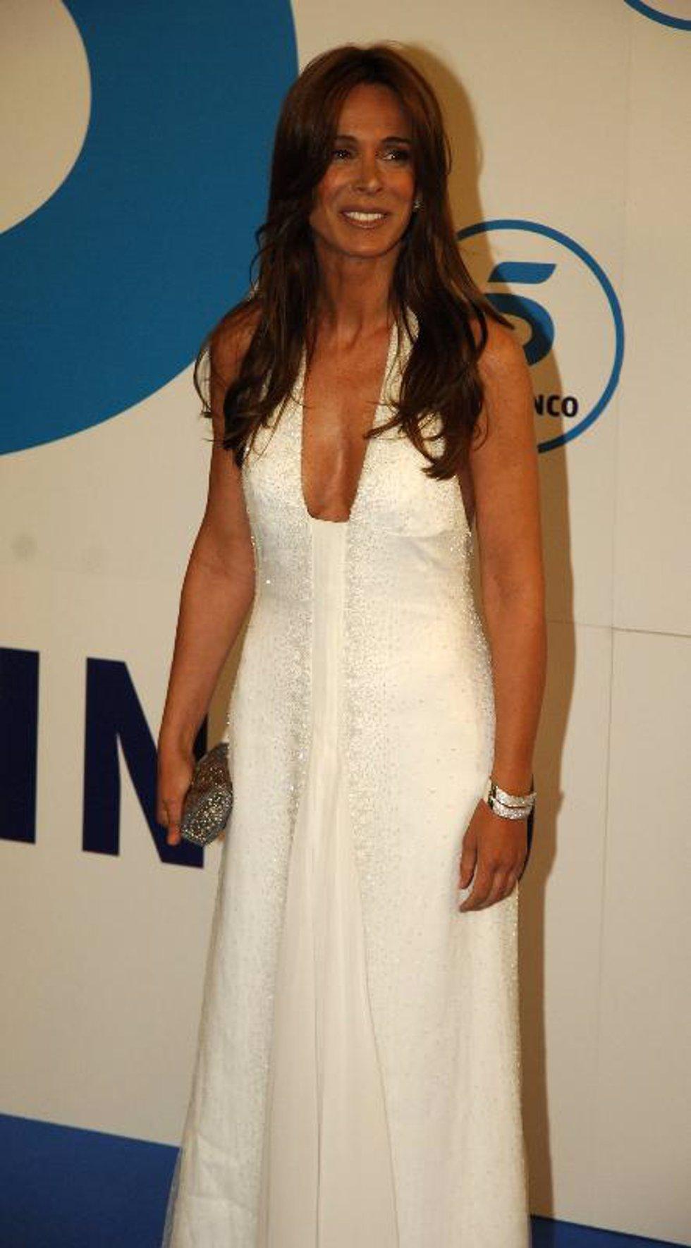 La actriz Lydia Bosch reaparece en la gala del 20 cumpleaños de Telecinco