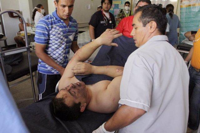 Accidente en Colombia