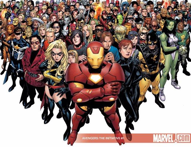 Superhéroes De Marvel A Porrillo