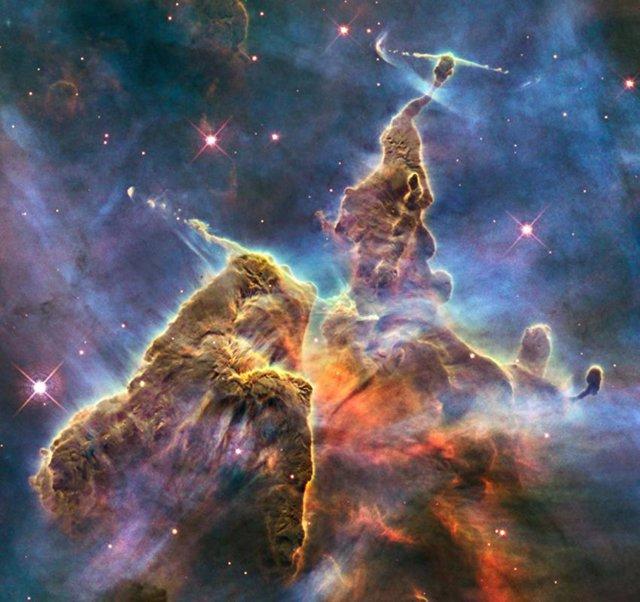 Nebulosa Vista Por El Hubble