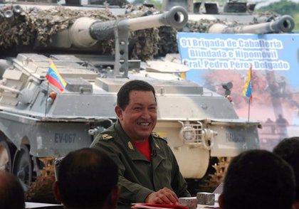 Chávez anuncia un aumento salarial del 40 por ciento para los militares