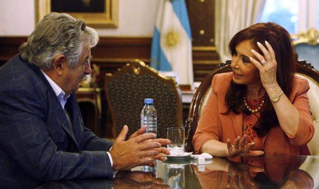 Kirchner y Mujica