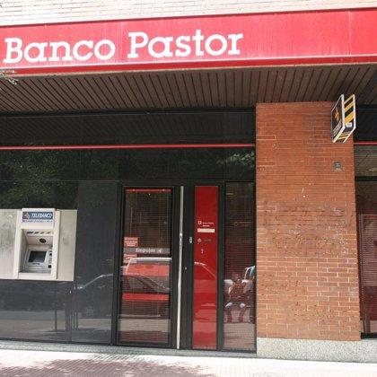 Banco Pastor ganó 34,4 millones de euros en el primer trimestre, un 23,6% menos