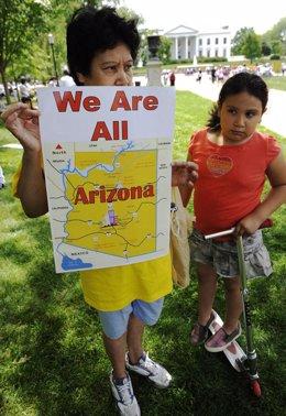 Ley contra inmigrantes en Arizona