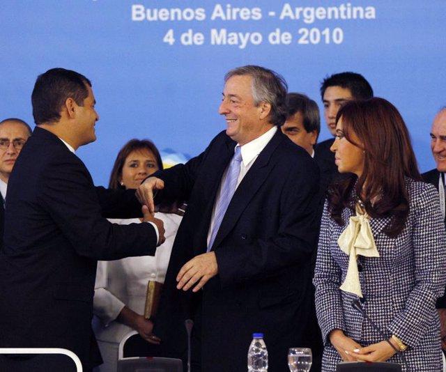 Reunión de UNASUR en Buenos Aires