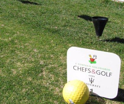 La Torta del Casar participa de nuevo en el II Torneo Solidario Chefs & Golf-Copa Maserati