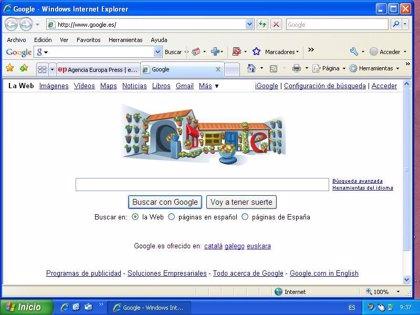 Google dedica su página principal a los Patios Cordobeses, que hoy abren sus puertas a los visitantes