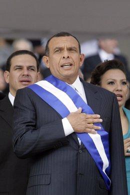 Porfirio Lobo, presidente de Honduras