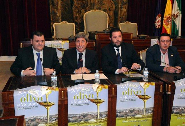 Presentación De La XV Feria Del Olivo De Montoro