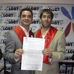 Boda gay en Argentina