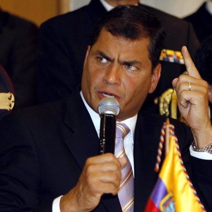 """Correa acusa a las """"fundaciones extranjeras"""" de financiar las movilizaciones indígenas en su contra"""