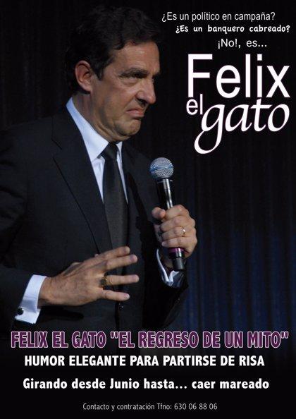 El humorista Félix El Gato ofrece un espectáculo en Badajoz en el que repasa sus experiencias vividas en clave de humor