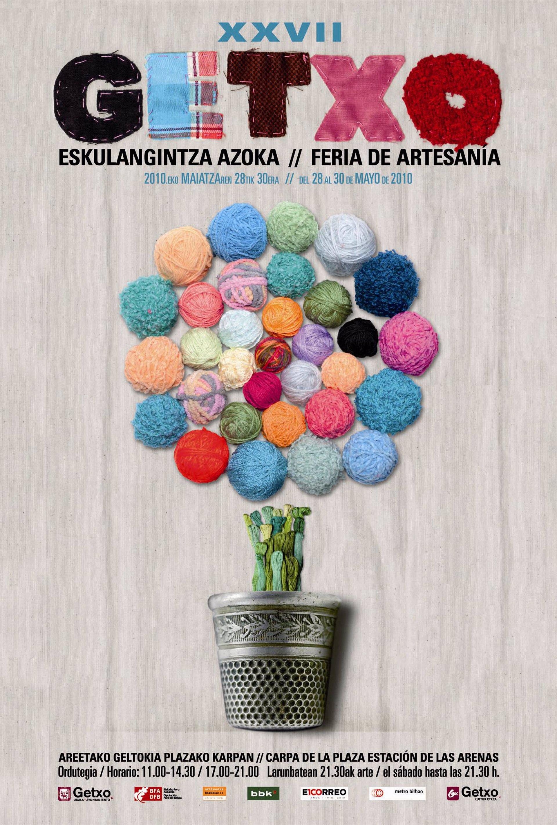 Getxo Celebra Del 28 Al 30 De Mayo La Xxvii Edición De La Feria De Artesanía Con La Presencia De 97 Artesanos