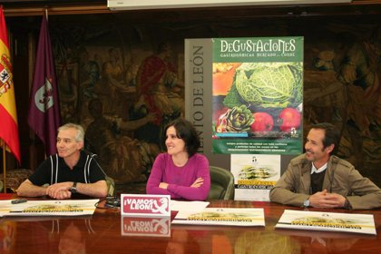 El próximo fin de semana se iniciará la campaña de degustaciones gastronómicas en el Mercado del Conde de León