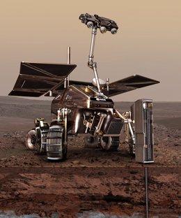 Exomars, robot de Marte