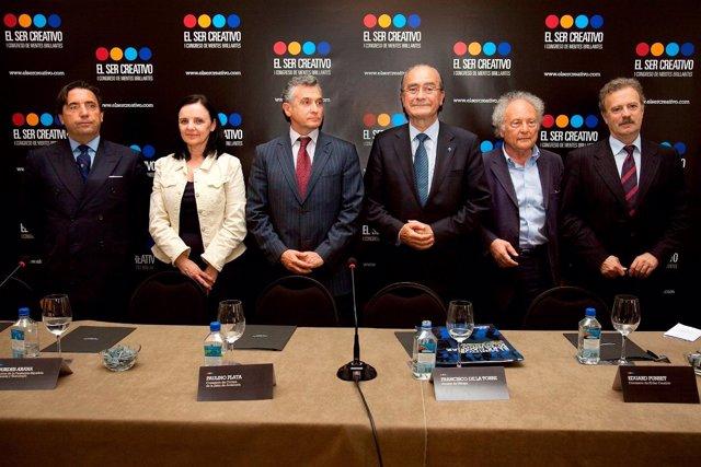 Presentación En Madrid De 'El Ser Creativo'