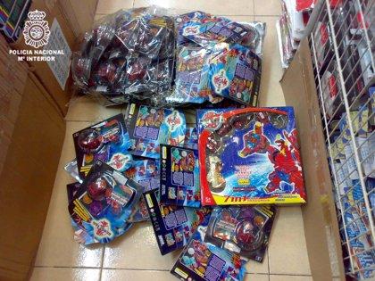 Detenidas 12 personas e intervenidos 47.444 bakugan falsos, juguetes valorados en un millón de euros