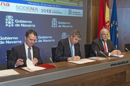 La empresa pública Sodena y la UPNA suscriben un acuerdo de colaboración científico-tecnológica