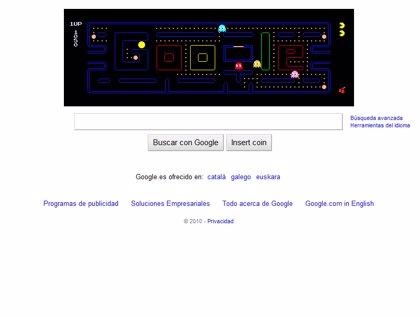 La inclusión de Pac-Man en el buscador Google costó al mundo 4,82 millones de horas de productividad