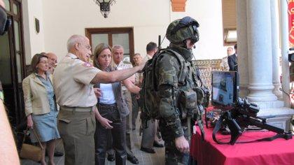 Innova.-AMP.-El equipamiento de última generación que diseña Defensa llegará a las zonas de operaciones en junio de 2011