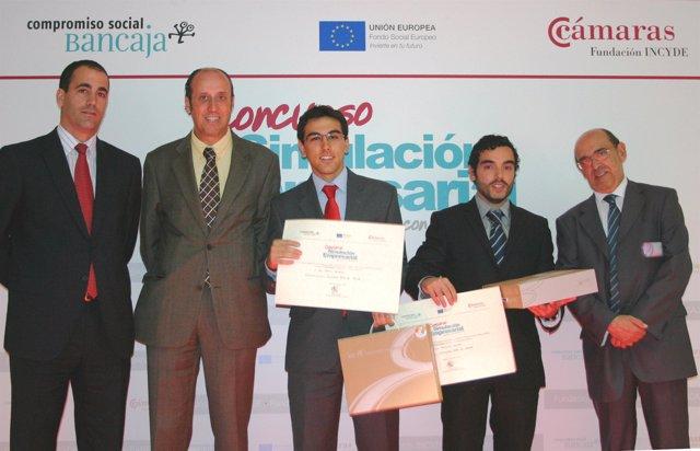 Alumnos de la UPO premiados por Bancaja e Incyde