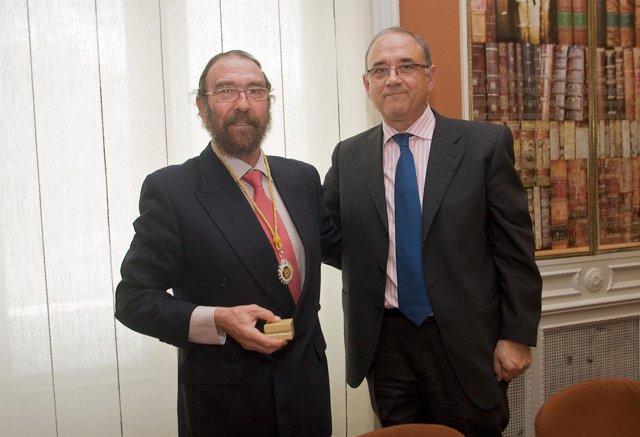 Gabriel Delgado y Juan José Rodríguez Sendín.