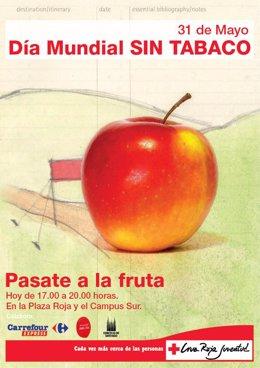 Cartel de la campaña de Cruz Roja.