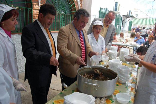 Pendón Sirve Caracoles En Riogordo