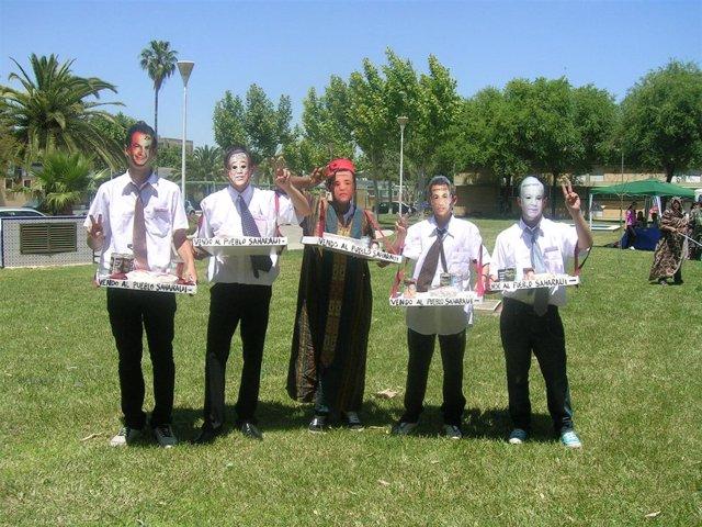 Componentes de la gira de 'Amigos del Sáhara'