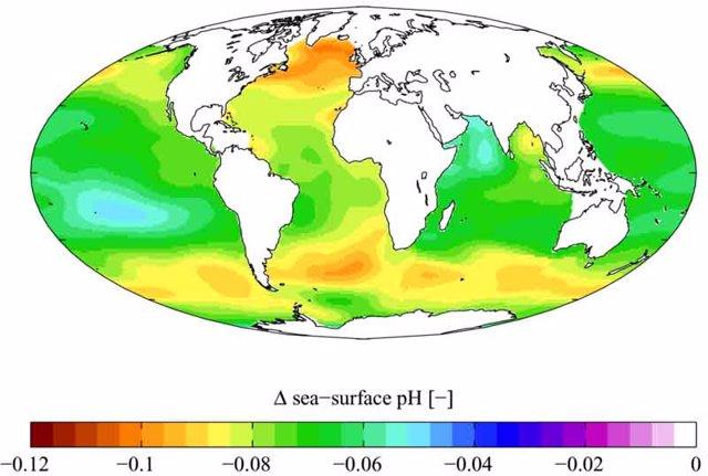 Acidificación de los océanos