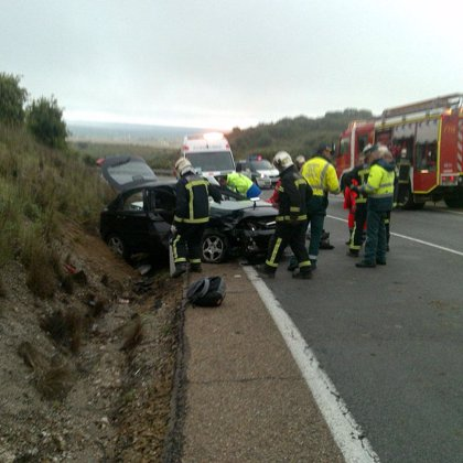 Las carreteras asturianas registraron 19 accidentes durante el fin de semana con 10 heridos leves