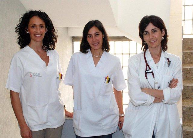 Pilar Medina Badenes, Elena Fernández Pons, Esther Zorio Grima
