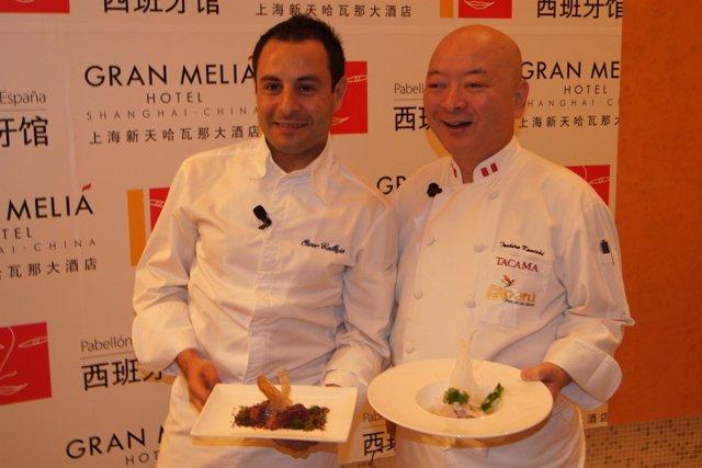 Cocineros en Shanghai