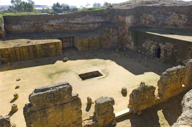 Vista principal de la necrópolis de Carmona
