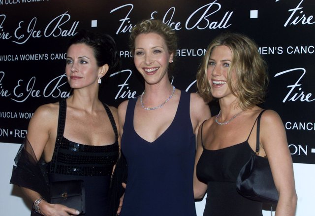 Courteney Cox, Lisa Kudrow y Jennifer Aniston