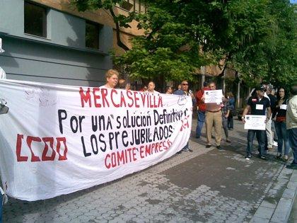 Los prejubilados del ERE de Mercasevilla y el comité de empresa debaten mañana nuevas movilizaciones